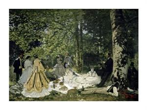 """Claude Monet Fine Art Open Edition Giclée:""""The Picnic"""""""