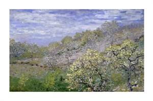 "Claude Monet Fine Art Open Edition Giclée:""Trees in Bloom (Arbres en Fleurs)"""