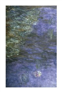 "Claude Monet Fine Art Open Edition Giclée:""Water Lilies (Detail) {Nymphaeas (Detail)}"""