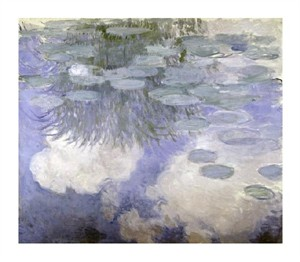 "Claude Monet Fine Art Open Edition Giclée:""Water Lilies (Nymphaeas) III"""
