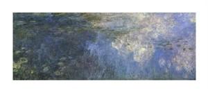"""Claude Monet Fine Art Open Edition Giclée:""""Water Lilies (Nymphaeas) IX"""""""