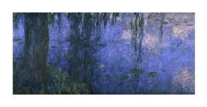 """Claude Monet Fine Art Open Edition Giclée:""""Water Lilies (Nymphaeas) V"""""""