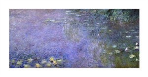 "Claude Monet Fine Art Open Edition Giclée:""Water Lilies (Nymphaeas) VII"""