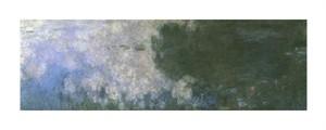 """Claude Monet Fine Art Open Edition Giclée:""""Water Lilies (Nymphaeas) X"""""""