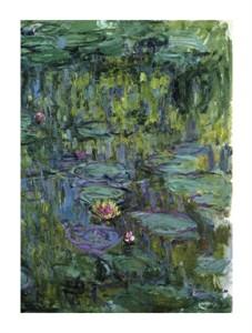 """Claude Monet Fine Art Open Edition Giclée:""""Water Lilies (Nymphaeas) XI"""""""