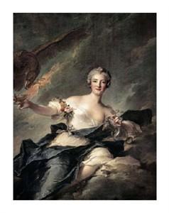 """Jean-Marc Nattier Fine Art Open Edition Giclée:""""Duchess of Chaulnes as Hebe"""""""