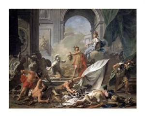 "Jean-Marc Nattier Fine Art Open Edition Giclée:""Perseus with Minerva Showing the Head of Medusa"""