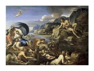 "Francois Perrier Fine Art Open Edition Giclée:""Acis and Galatea"""