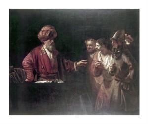 "Rembrandt Van Rijn Fine Art Open Edition Giclée:""Centurion Cornelius"""