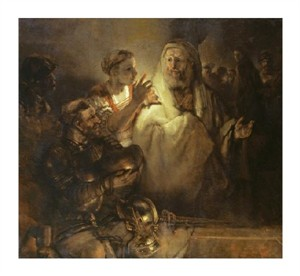 "Rembrandt Van Rijn Fine Art Open Edition Giclée:""Denial of St Peter"""