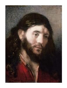 "Rembrandt Van Rijn Fine Art Open Edition Giclée:""Head of Christ"""