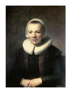 """Rembrandt Van Rijn Fine Art Open Edition Giclée:""""Portrait of B. Martens Doomer"""""""