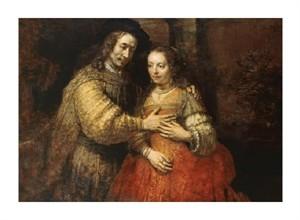 "Rembrandt Van Rijn Fine Art Open Edition Giclée:""The Jewish Bride"""