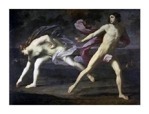 "Guido Reni Fine Art Open Edition Giclée:""Atalanta and Hippomenes"""