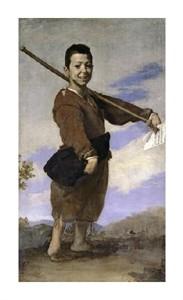 "Jusepe De Ribera Fine Art Open Edition Giclée:""Club-Footed Boy"""