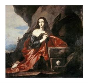 "Jusepe De Ribera Fine Art Open Edition Giclée:""Mary Magdalene"""