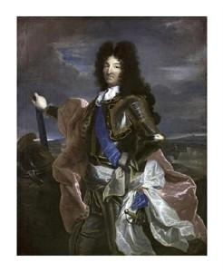 "Hyacinthe Rigaud Fine Art Open Edition Giclée:""Louis XIV, King of France"""