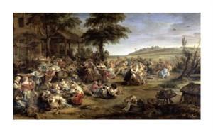 """Peter Paul Rubens Fine Art Open Edition Giclée:""""A Village Wedding"""""""