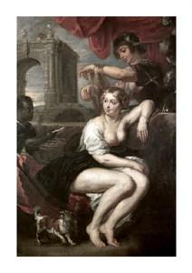"Peter Paul Rubens Fine Art Open Edition Giclée:""Bathsheba at the Spring"""