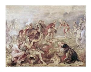 """Peter Paul Rubens Fine Art Open Edition Giclée:""""Meeting of the Two Ferdinands"""""""