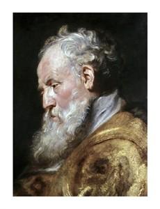 """Peter Paul Rubens Fine Art Open Edition Giclée:""""Saint Ambrose"""""""