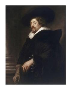 "Peter Paul Rubens Fine Art Open Edition Giclée:""Self-Portrait"""