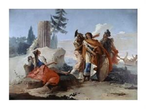 "Giovanni Battista Tiepolo Fine Art Open Edition Giclée:""Armida Abandoned by Rinaldo"""
