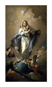 """Giovanni Battista Tiepolo Fine Art Open Edition Giclée:""""Conception"""""""