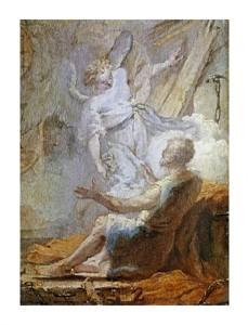 "Giovanni Battista Tiepolo Fine Art Open Edition Giclée:""Liberation of Saint Peter"""