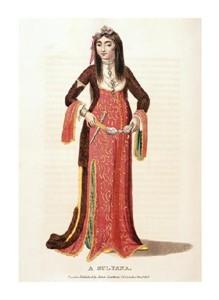 "Unknown Fine Art Open Edition Giclée:""A Sultana"""