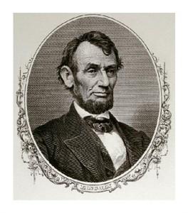 "Unknown Fine Art Open Edition Giclée:""Abraham Lincoln"""