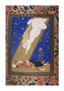 """Unknown Fine Art Open Edition Giclée:""""Angel Descending on Dead Man"""""""