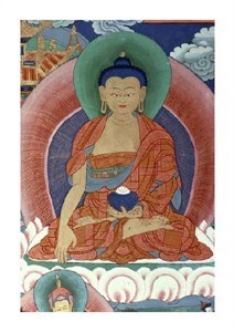 "Unknown Fine Art Open Edition Giclée:""Tiger's Den - Detail of Buddha"""