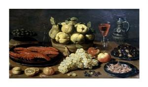 "Jacob Fopsen Van Es Fine Art Open Edition Giclée:""Still Life with Seafood"""