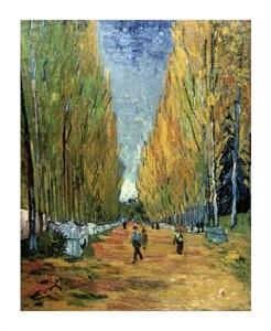"""Vincent Van Gogh Fine Art Open Edition Giclée:""""Allee des Alyscamps"""""""