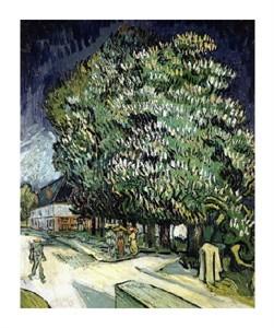 "Vincent Van Gogh Fine Art Open Edition Giclée:""Chestnut Trees in Blossom"""