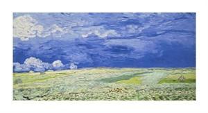 """Vincent Van Gogh Fine Art Open Edition Giclée:""""Field under a Stormy Sky"""""""
