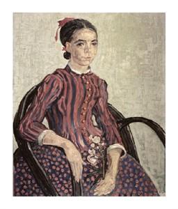 """Vincent Van Gogh Fine Art Open Edition Giclée:""""La Mousme"""""""