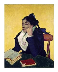 "Vincent Van Gogh Fine Art Open Edition Giclée:""L'Arlesienne: Madame Joseph Michel Ginoux"""