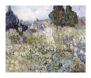 """Vincent Van Gogh Fine Art Open Edition Giclée:""""Marguerite Gachet in the Garden at Auvers-Sur-Oise"""""""