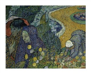 "Vincent Van Gogh Fine Art Open Edition Giclée:""Memories of the Garden at Essen"""