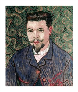 "Vincent Van Gogh Fine Art Open Edition Giclée:""Portrait of Doctor Felix Rey"""
