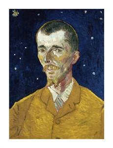 """Vincent Van Gogh Fine Art Open Edition Giclée:""""Portrait of Eugene Boch"""""""