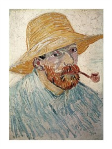 "Vincent Van Gogh Fine Art Open Edition Giclée:""Self Portrait 1888"""