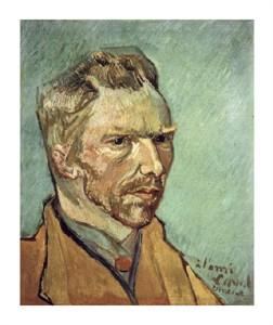 """Vincent Van Gogh Fine Art Open Edition Giclée:""""Self-Portrait"""""""