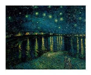 "Vincent Van Gogh Fine Art Open Edition Giclée:""Starlight Over the Rhone"""