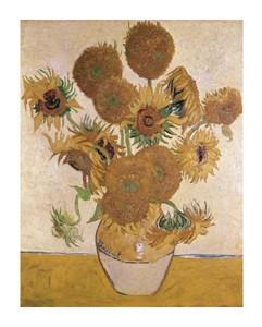 "Vincent Van Gogh Fine Art Open Edition Giclée:""Sunflowers"""