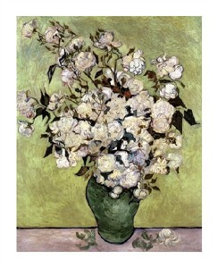"Vincent Van Gogh Fine Art Open Edition Giclée:""Vase of Roses"""