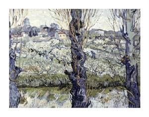 "Vincent Van Gogh Fine Art Open Edition Giclée:""View of Arles"""
