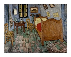 "Vincent Van Gogh Fine Art Open Edition Giclée:""The Artist's Bedroom"""
